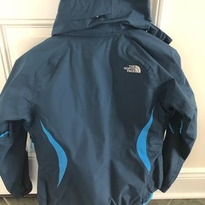 The North Face Other - North face 2 pc rain jacket with separate fleece